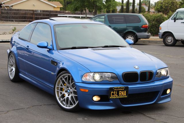 2003 BMW M Models M3 COUPE 6 SPEED MANUAL RARE ESTORIL BLUE CSL SERVICE RECORDS in Woodland Hills CA, 91367