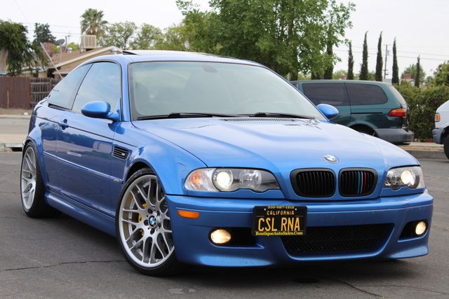 2003 BMW M Models M3 COUPE 6 SPEED MANUAL RARE ESTORIL BLUE CSL SERVICE RECORDS in Van Nuys, CA 91406
