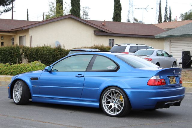 2003 BMW M3 COUPE MANUAL INDIVIDUAL RARE ESTORIL BLUE SERVICE RECORDS in Van Nuys, CA 91406