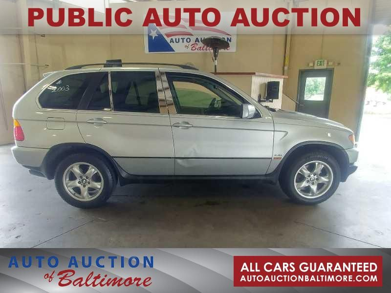 2003 BMW X5 4.4i  | JOPPA, MD | Auto Auction of Baltimore  in JOPPA MD