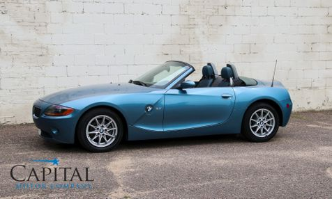 2003 BMW Z4 Roadster w/Power Convertible Top, Heated Seats, Premium 10-Speaker Audio System & VERY Low Miles in Eau Claire