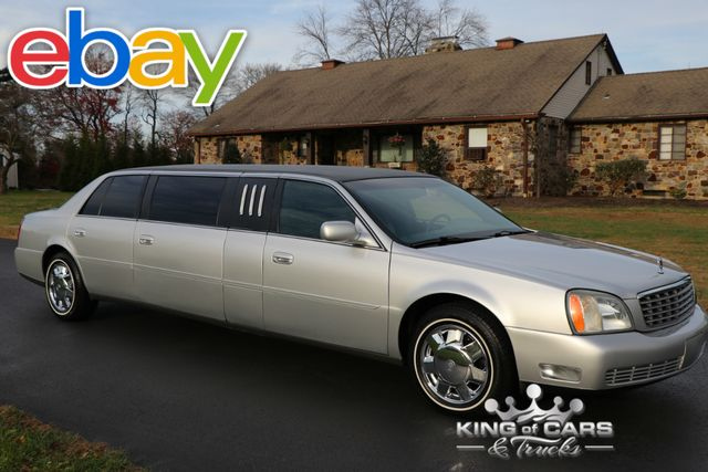 2003 Cadillac Deville 6 Door LIMOUSINE 58K ORIGINAL MILES ULTRA RARE LIMO in Woodbury New Jersey, 08096