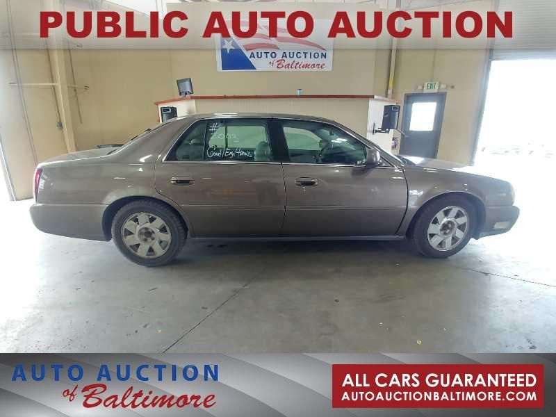 2003 Cadillac DEVILLE  | JOPPA, MD | Auto Auction of Baltimore  in JOPPA MD