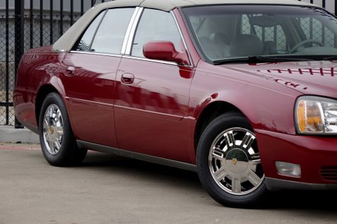2003 Cadillac DeVille w/Livery Pkg* Leather* EZ Finance** | Plano, TX | Carrick's Autos in Plano, TX