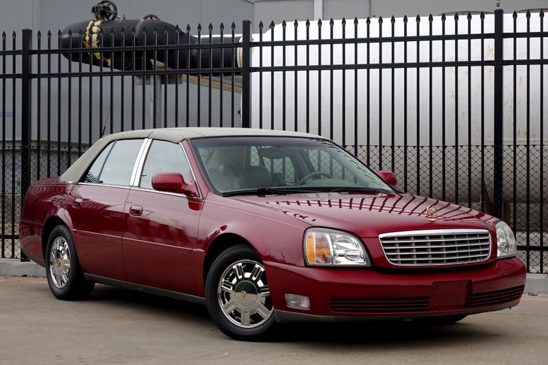 2003 Cadillac DeVille w/Livery Pkg* Leather* EZ Finance** | Plano, TX | Carrick's Autos in Plano TX