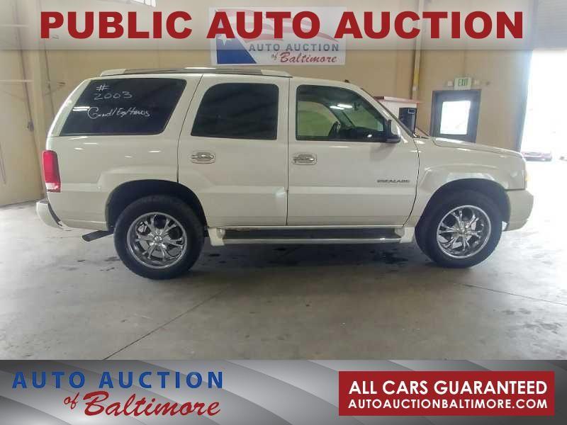 2003 Cadillac Escalade  | JOPPA, MD | Auto Auction of Baltimore  in JOPPA MD