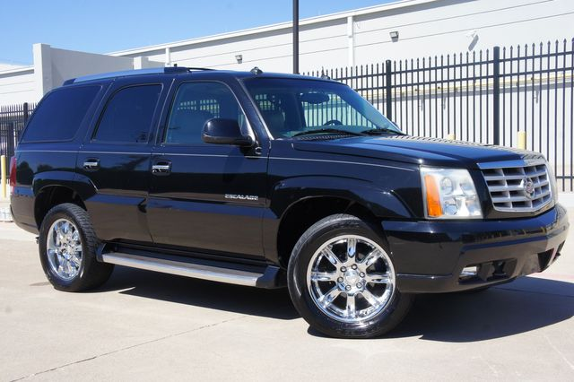 2003 Cadillac Escalade AWD * 1-OWNER * Sunroof * QUADS * 20's * DVD * TX