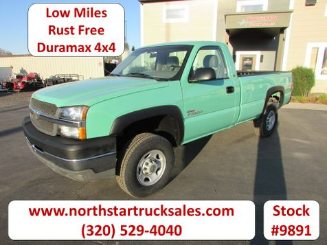 2003 Chevrolet 2500HD Duramax 4x4 Reg-Cab Pickup  in St Cloud, MN