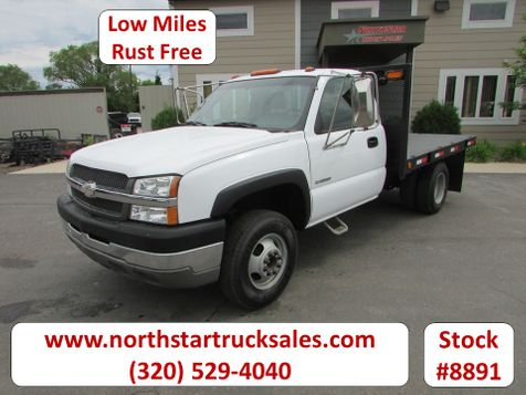 2003 Chevrolet 3500 4x2 Reg cab Flatbed Truck  in St Cloud, MN