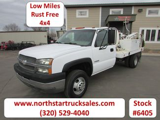 2003 Chevrolet 3500 4x4 Reg Cab Core Drilling Utility Truck in St Cloud, MN