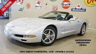 2003 Chevrolet Corvette Convertible AUTO,HUD,LTH,BOSE,POLISHED WHLS,47K! in Carrollton TX, 75006