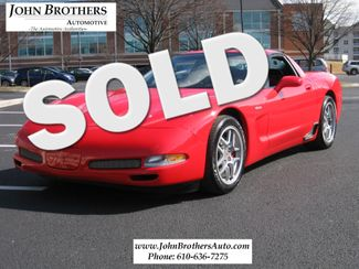 2003 Sold Chevrolet Corvette Z06 Conshohocken, Pennsylvania