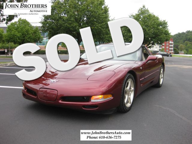 2003 Sold Chevrolet Corvette 50th Anniversary Conshohocken, Pennsylvania