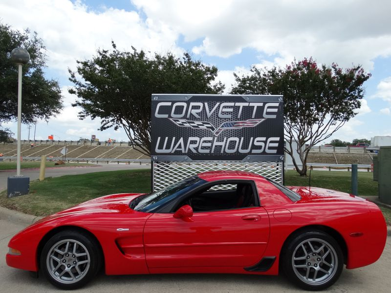 2003 Chevrolet Corvette Z06 Hardtop, Two-Tone Red Seats, Alloys 75k! | Dallas, Texas | Corvette Warehouse