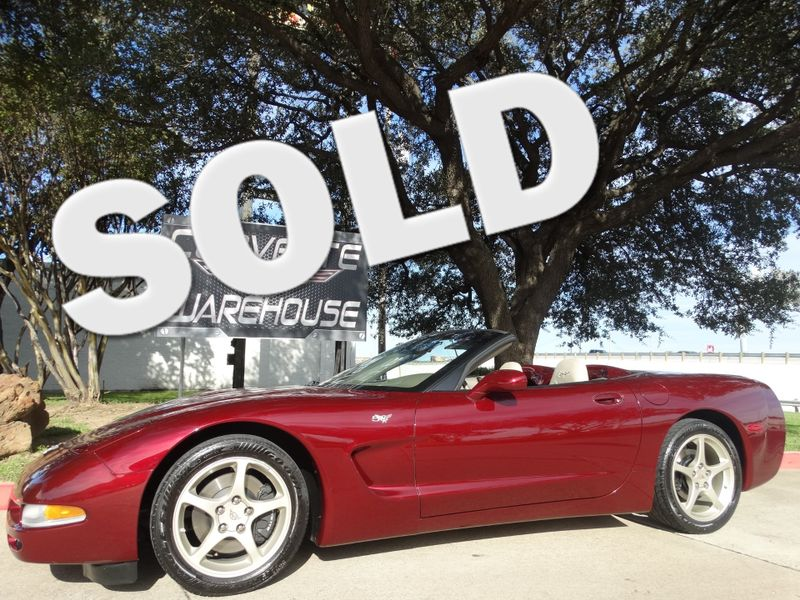 2003 Chevrolet Corvette 50th Anniversary Edition Convertible Only 30k! | Dallas, Texas | Corvette Warehouse
