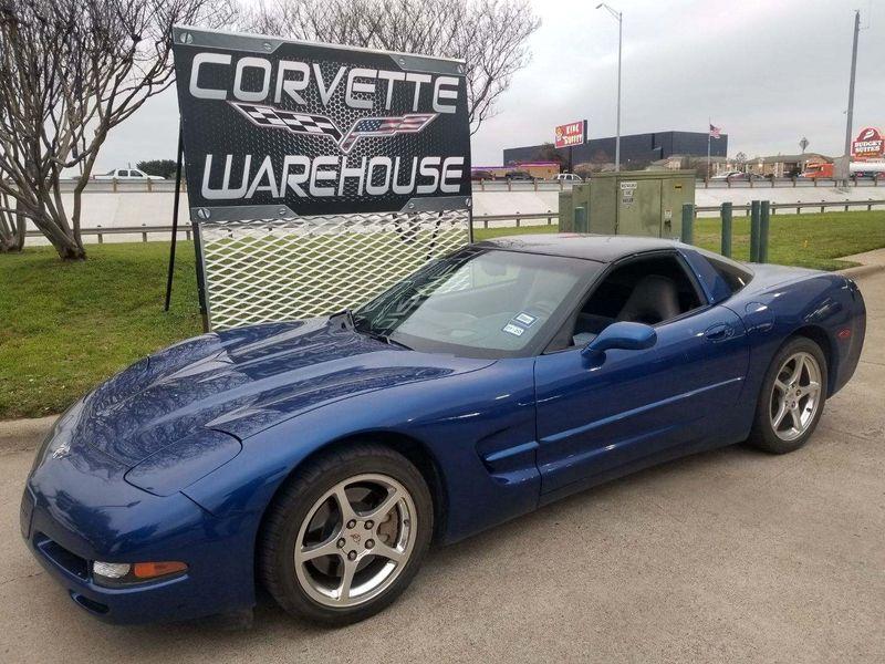2003 Chevrolet Corvette Coupe 1SB Pkg, HUD, Glass Top, Polished Wheels! | Dallas, Texas | Corvette Warehouse