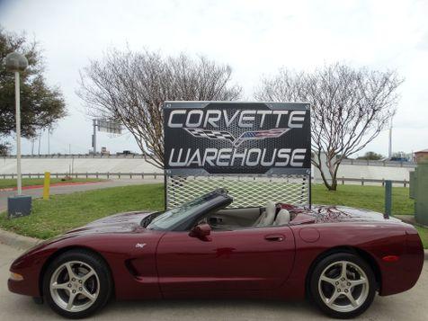 2003 Chevrolet Corvette 50th Anniversary Edition Convertible with Only 5k! | Dallas, Texas | Corvette Warehouse  in Dallas, Texas