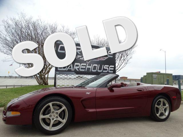 2003 Chevrolet Corvette 50th Anniversary Edition Convertible 1-Owner 5k!   Dallas, Texas   Corvette Warehouse  in Dallas Texas