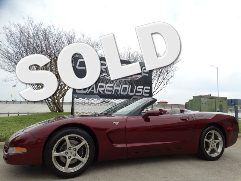 2003 Chevrolet Corvette 50th Anniversary Edition Convertible 1-Owner 5k! | Dallas, Texas | Corvette Warehouse