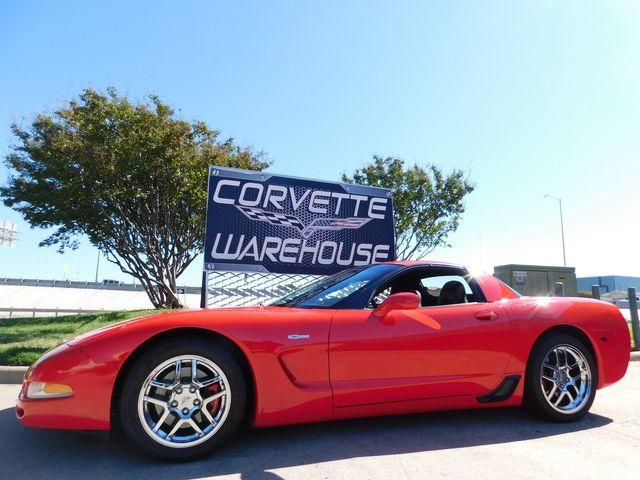 2003 Chevrolet Corvette Z06 Hardtop, CD Player, Chrome Wheels 50k