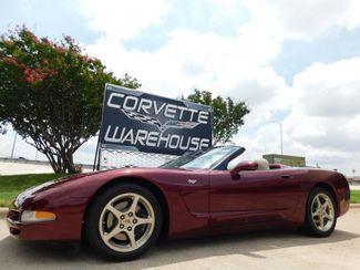 2003 Chevrolet Corvette 50th Anniversary Edition Convertible 1-Owner 13k in Dallas, Texas 75220