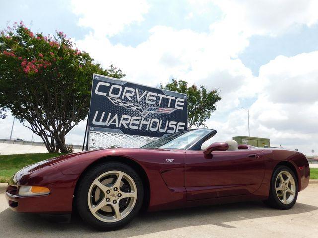 2003 Chevrolet Corvette 50th Anniversary Edition Convertible 1-Owner 13k