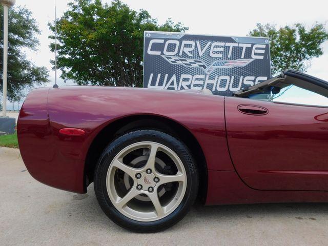 2003 Chevrolet Corvette 50th Anniversary Edition Convertible, Only 15k in Dallas, Texas 75220