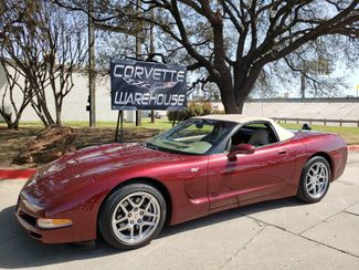 2003 Chevrolet Corvette 50th Anniversary Edition Convertible Only 43k in Dallas, Texas 75220