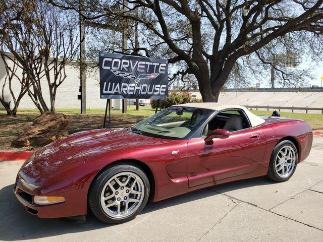2003 Chevrolet Corvette 50th Anniversary Edition Convertible Only 43k