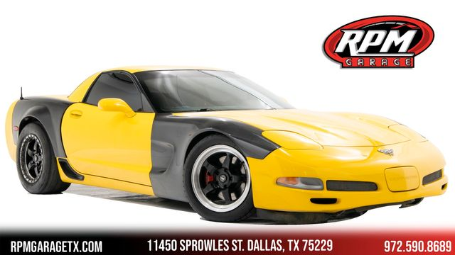 2003 Chevrolet Corvette Z06 Widebody Procharged with Many Upgrades