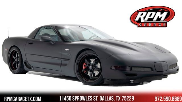 2003 Chevrolet Corvette Z06 Procharged with Many Upgrades