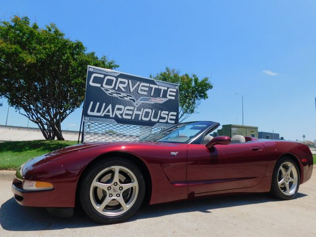 2003 Chevrolet Corvette 50th Anniversary Edition Convertible, Only 18k