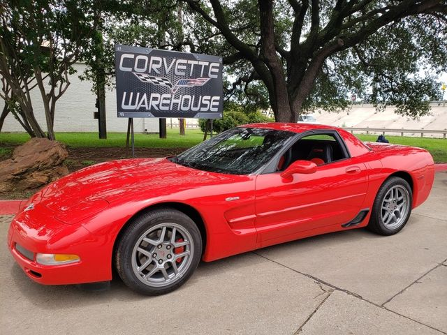 2003 Chevrolet Corvette Z06 Hardtop, Museum Quality, Only 747 Miles