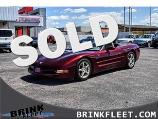 2003 Chevrolet 50th Anniversary Corvette 2dr Convertible | Lubbock, TX | Brink Fleet in Lubbock TX