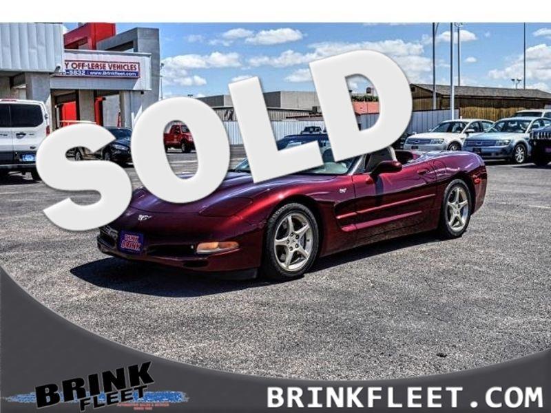 2003 Chevrolet 50th Anniversary Corvette 2dr Convertible | Lubbock, TX | Brink Fleet in Lubbock TX