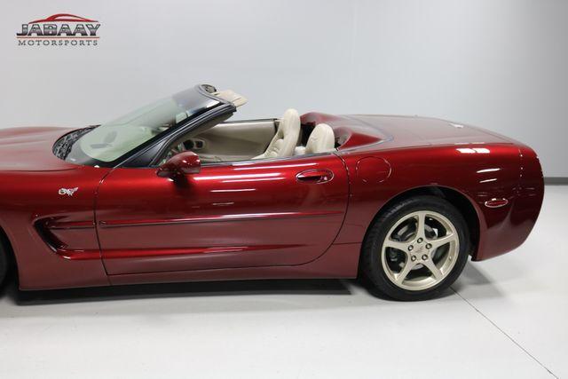 2003 Chevrolet Corvette 50th Anniversary Merrillville, Indiana 34