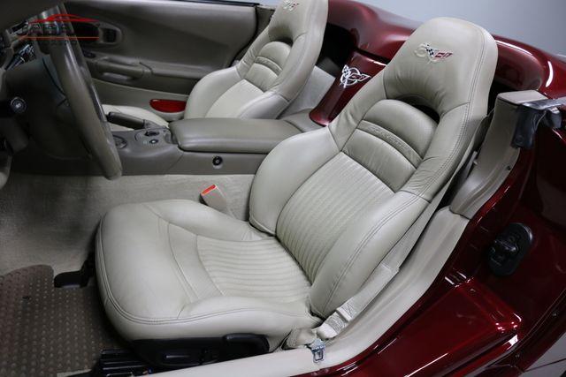 2003 Chevrolet Corvette 50th Anniversary Merrillville, Indiana 12