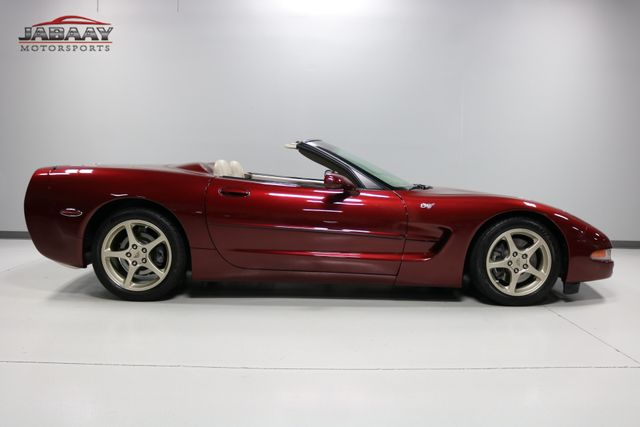 2003 Chevrolet Corvette 50th Anniversary Merrillville, Indiana 5