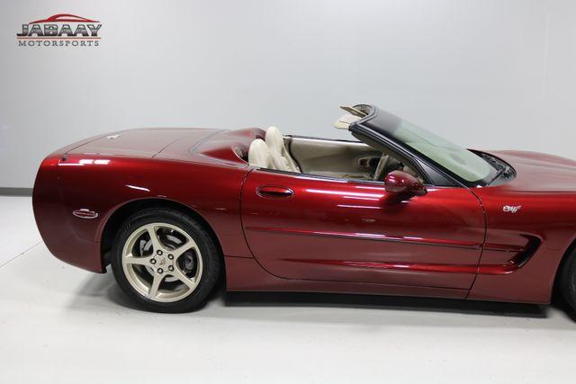 2003 Chevrolet Corvette 50th Anniversary Merrillville, Indiana 39