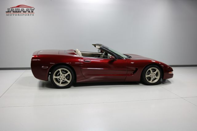 2003 Chevrolet Corvette 50th Anniversary Merrillville, Indiana 42