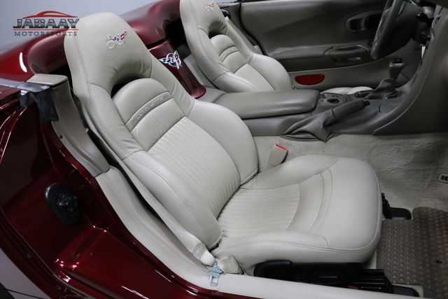 2003 Chevrolet Corvette 50th Anniversary Merrillville, Indiana 13