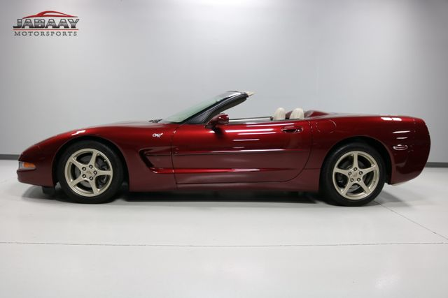 2003 Chevrolet Corvette 50th Anniversary Merrillville, Indiana 1