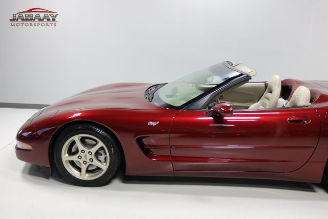 2003 Chevrolet Corvette 50th Anniversary Merrillville, Indiana 32