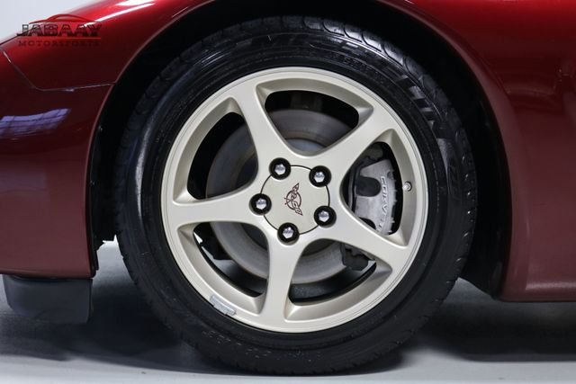 2003 Chevrolet Corvette 50th Anniversary Merrillville, Indiana 44