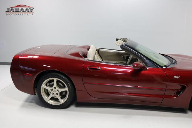 2003 Chevrolet Corvette 50th Anniversary Merrillville, Indiana 38