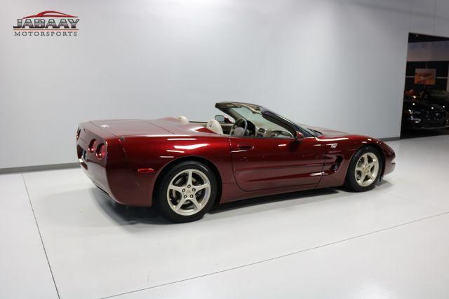 2003 Chevrolet Corvette 50th Anniversary Merrillville, Indiana 40