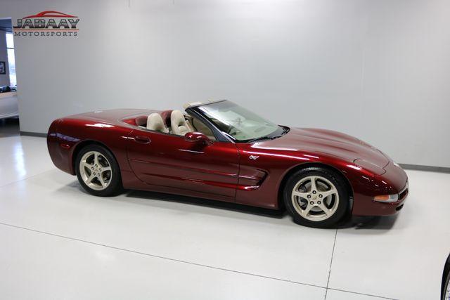 2003 Chevrolet Corvette 50th Anniversary Merrillville, Indiana 43
