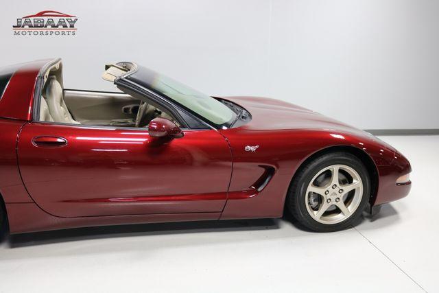 2003 Chevrolet Corvette 50th Anniversary Merrillville, Indiana 37