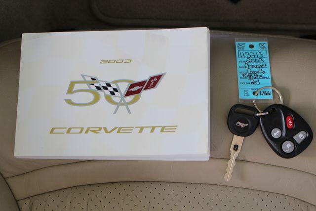 2003 Chevrolet Corvette 50TH ANNIVERSARY EDITION -  MAGNETIC RIDE CONTROL! Mooresville , NC 17