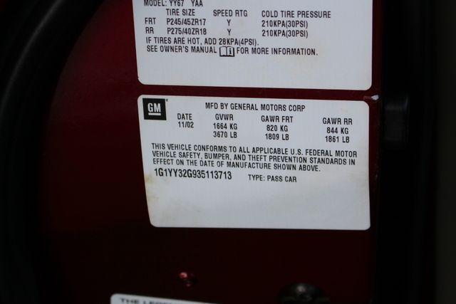 2003 Chevrolet Corvette 50TH ANNIVERSARY EDITION -  MAGNETIC RIDE CONTROL! Mooresville , NC 49